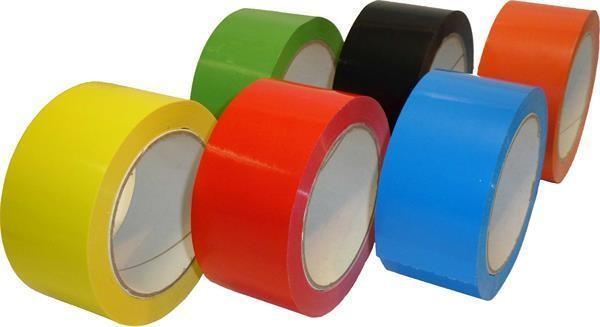 PVC-Packband, farbig