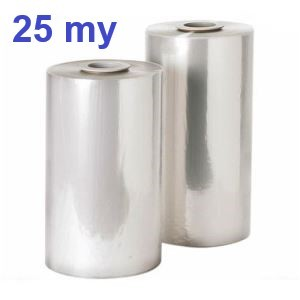 Polyolefin-Feinschrumpf-Halbschlauchfolie 25 my