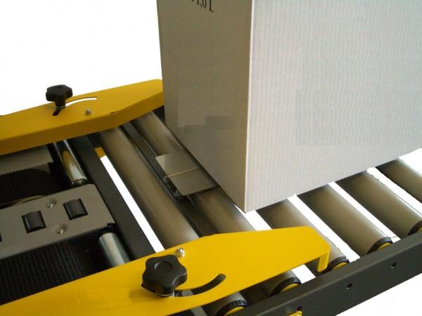 Einlaufrollenbahn 500 mm mit Kartonhalteschwert F 1