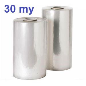 Polyolefin-Feinschrumpf-Halbschlauchfolie 30 my