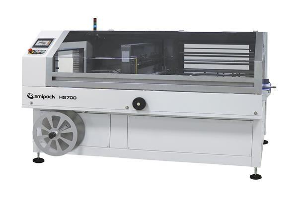 Automatische Folienverpackungsmaschine HS700 für große Produkte