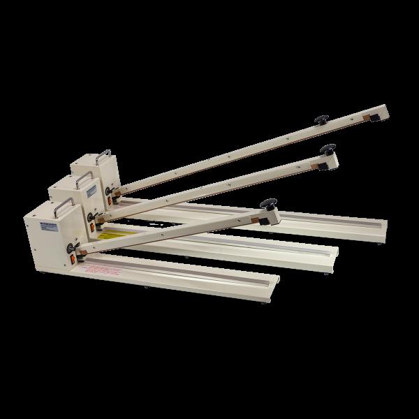 Impulsschweißgerät mit extralangem Schweißbalken ME-HIB