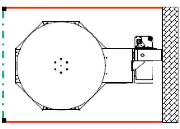 vorne und hinten Schutzgitter