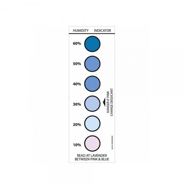 Feuchteanzeigekarten 10-20-30-40-50-60 %