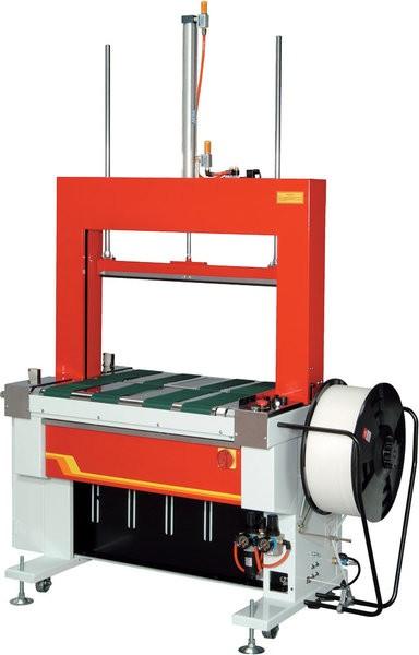 Rahmenumreifungsmaschine mit Anpressung Modell TP-601BP
