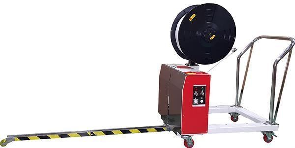 Palettenumreifungsmaschine Modell TP-502 MV