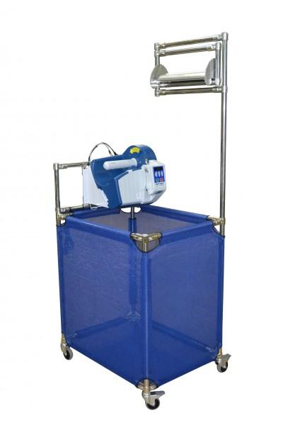 Set Luftpolsterkissenmaschine MINI PAK'R mit Rollsilo MOBILE FILL
