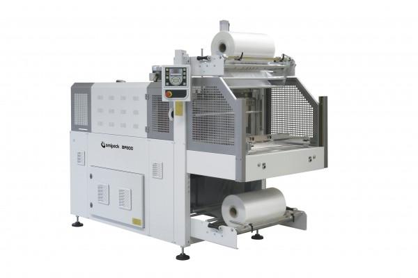 Halbautomatische Banderolierschrumpfmaschine BP 800