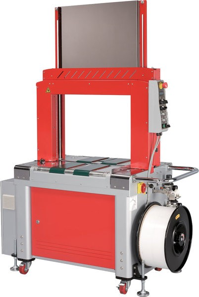 Angetriebene Highspeed- Rahmenumreifungsmaschine mit Anpressung Modell TP-702BP