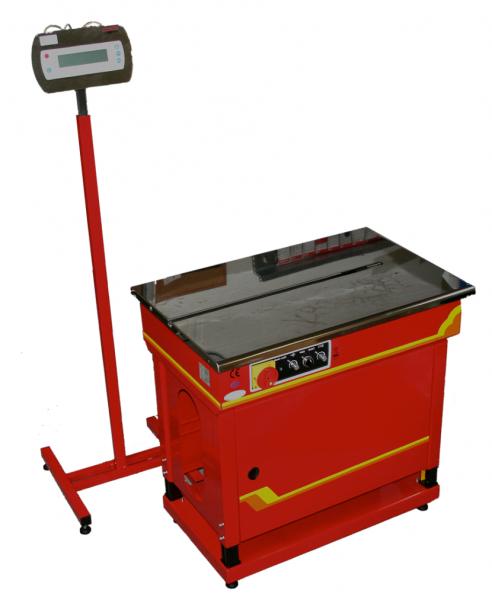 Umreifungsmaschine Electronic mit eingebauter Waage